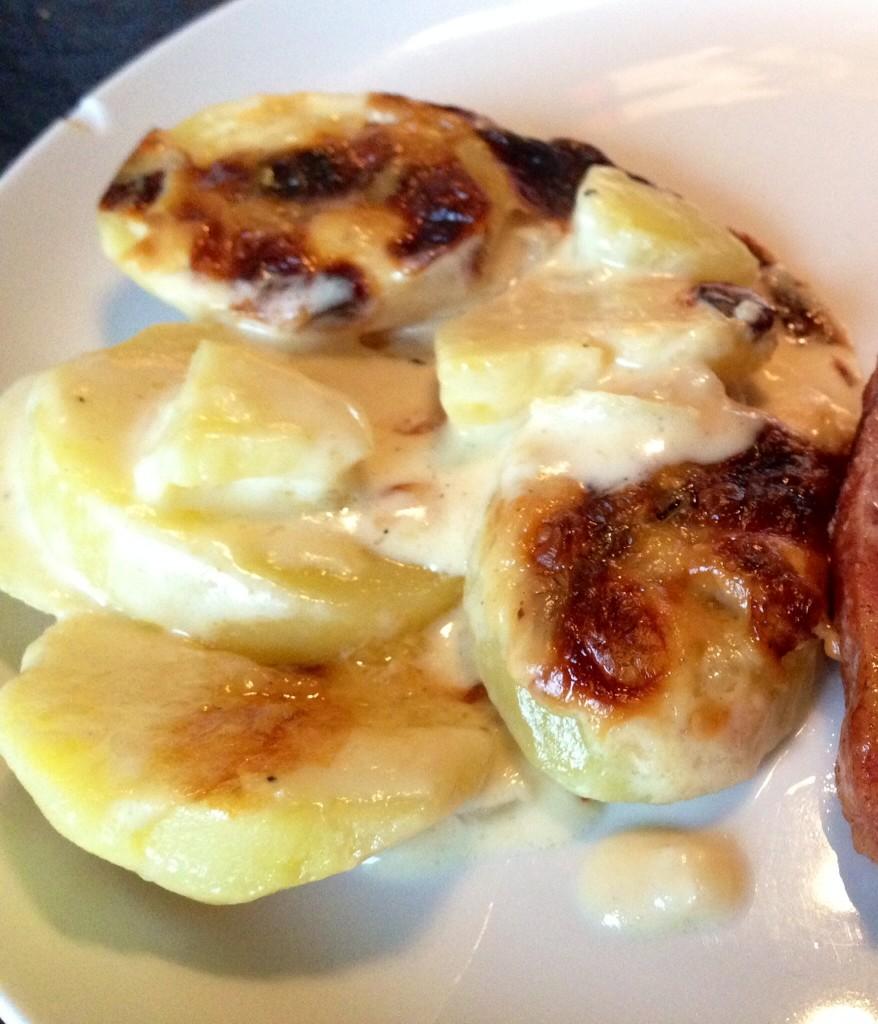 Flødekartofler med hvidløg